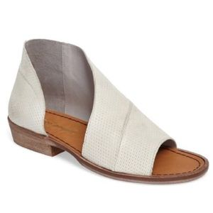 Free People Mont Blanc Sandal Perforated Off White